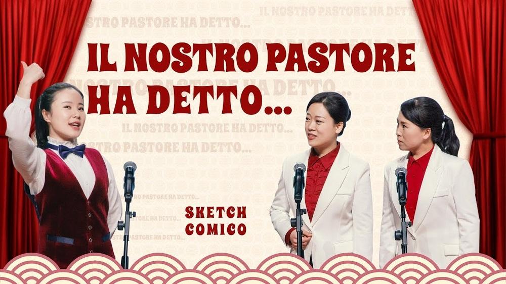 """Sketch comico: """"Il nostro pastore ha detto…"""" Chi dovremmo ascoltare nella nostra fede in Dio?"""