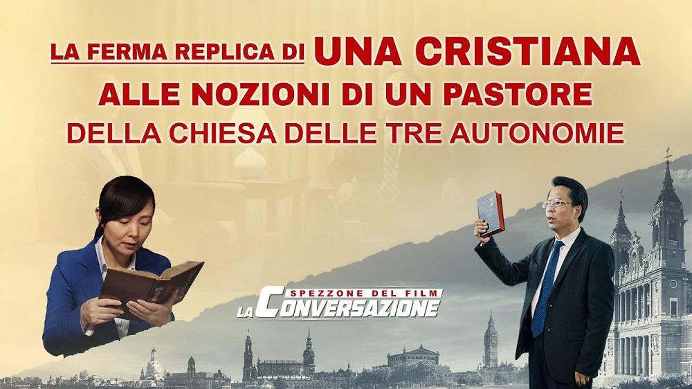 La ferma replica di una cristiana alle nozioni di un pastore della Chiesa delle Tre Autonomie