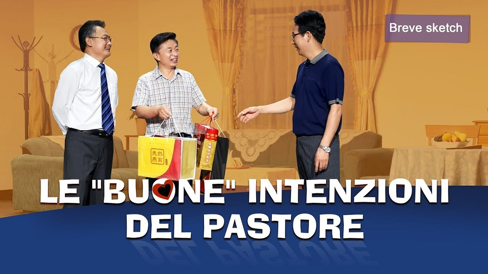 """Sketch divertente - Le """"buone"""" intenzioni del pastore (Video cristiano)"""