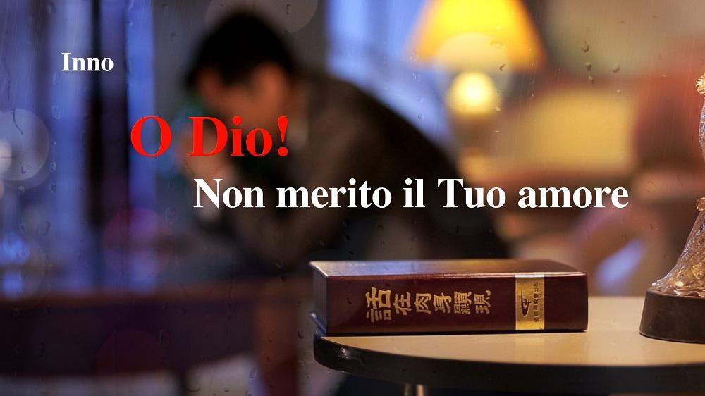 """Lodi di oggi - """"O Dio! Non merito il Tuo amore"""" L'amore di Dio non ti abbandona mai"""