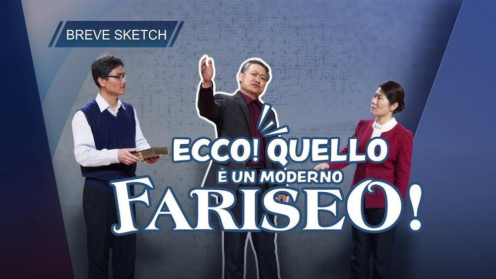 """Breve sketch – """"Ecco! Quello è un moderno fariseo!"""""""