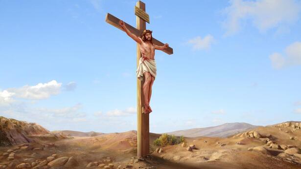 il Signore Gesù fu inchiodato alla croce