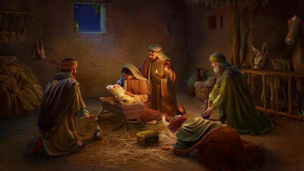 Il Signore Gesù nacque