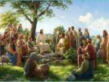 Signore Gesù predica